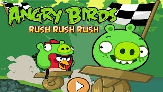 Angry Birds Rush Rush Rush - Racing Game