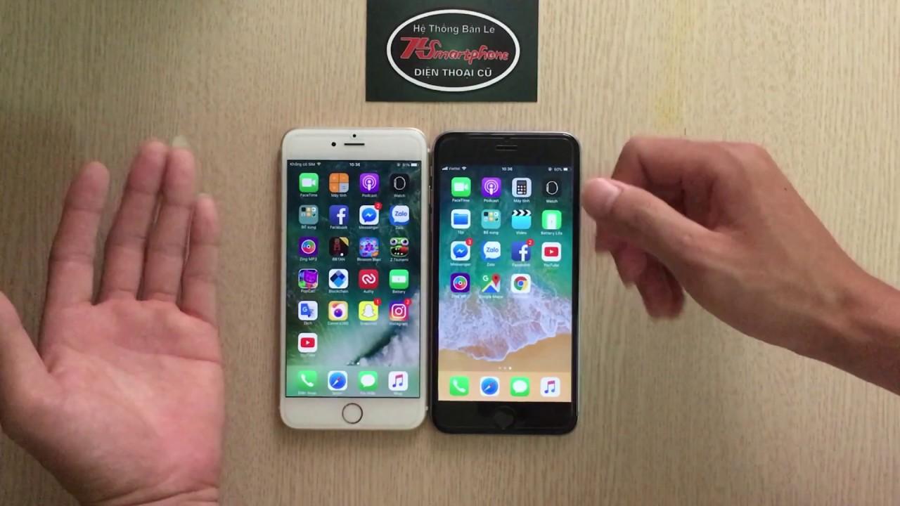Điểm khác biệt khi nâng cấp lên IOS 11 cho iphone 6 plus
