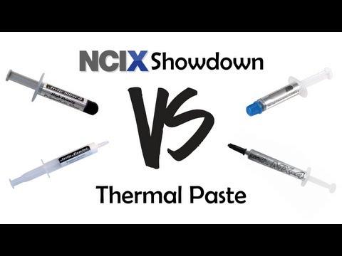 Thermal Paste - NCIX Showdown