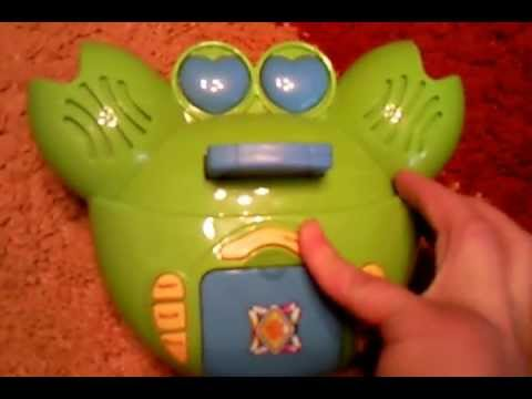 Overview of a child's toy - Crab storyteller 'The Fairy Tale .