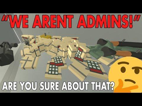 "Raiding the ""WE ARENT ADMINS"" 🤔 bruh.. | Unturned VANILLA ADMIN Base Raid"
