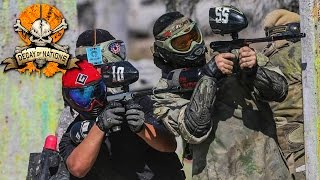 Craziest Paintball Battle // Decay Of Nations 8 2014 // Giant Sportz