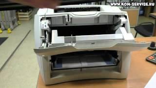 Как вытащить картридж из принтера НР 1300.(Для этого тянем за бока и открываем крышку. После видим тонер картридж и тянем за него. http://kom-servise.ru/index.php/remon..., 2015-02-03T13:14:40.000Z)
