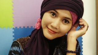 How to Wear Turban Hijab by Didowardah - Part #10