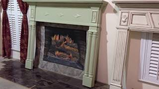 The Portsmouth Mantel - Classic Fireplace Mantel Design
