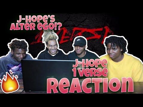(방탄소년단) J-Hope - 1 VERSE (제이홉) - REACTION   J-HOPE'S ALTER EGO!?
