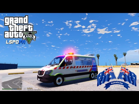 GTA V - LSPDFR Australia - Emergency 000 - Australia Day Vic