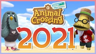 DAS erwartet uns 2021 in ANIMAL CROSSING NEW HORIZONS | Spoiler!