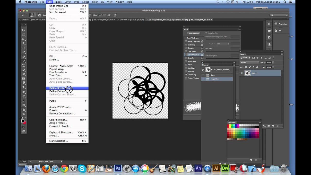 how to create pdf on photoshop