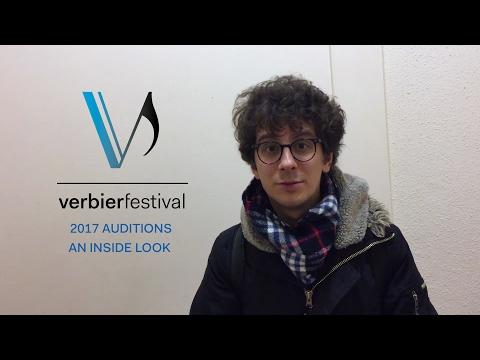 Les auditions du Verbier Festival Orchestra 2017 - Ep.00
