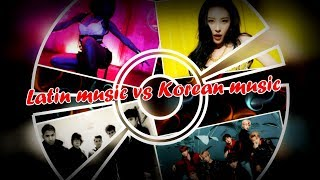 korean music vs latin music!!!