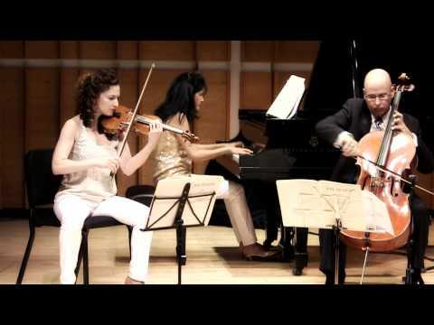 Chroma Piano Trio - Brahms Trio No. 3 Op. 101, C Minor: I Allegro energico