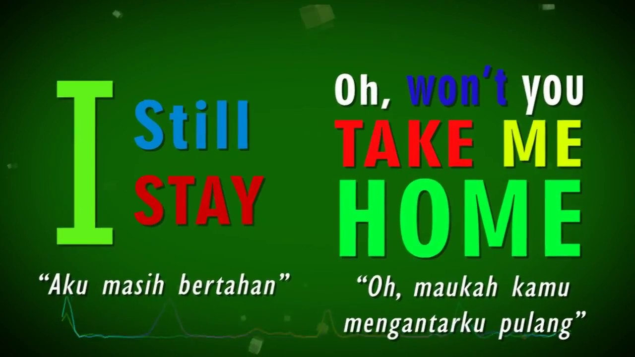 Take Me Home Cash Cash Video Lyric Arti Dan Maknanya Youtube