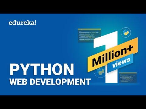 Python Web Development | Web Development Using Django | Python Django Tutorial | Edureka