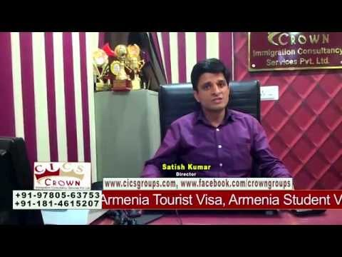 Armenia Settlement, Armenia Student Visa, Armenia Visa