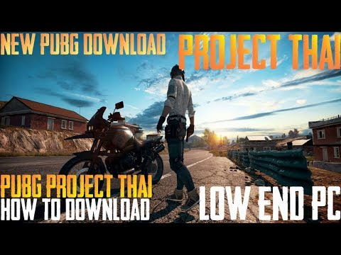 PUBG Project Thai How to download and Play For Low End PC Aio