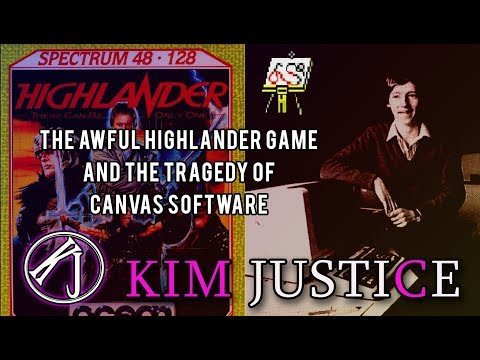 The Awful Highlander Game And The Tragedy Of Canvas Software | Kim Justice