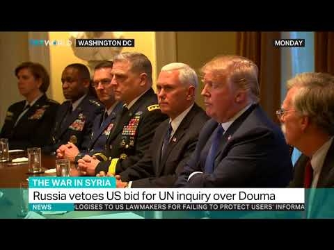US readies response to Syria attacks after UN clash with Russia