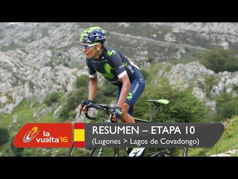 Resumen - Etapa 10 (Lugones / Lagos de Covadonga) - La Vuelta a España 2016