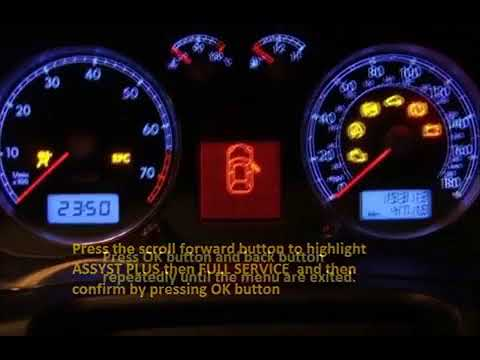 CITROEN NEMO  2008 02 How To Reset Service Light Indicator