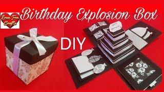 Birthday Explosion Box | DIY | How To Make Explosion Box