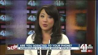 KSHB Kansas City - Nomophobia story featuring Dr. Elizabeth Waterman