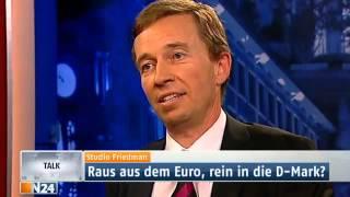 Bernd Lucke AfD souverän gegen Michel Friedman und Michael Roth SPD