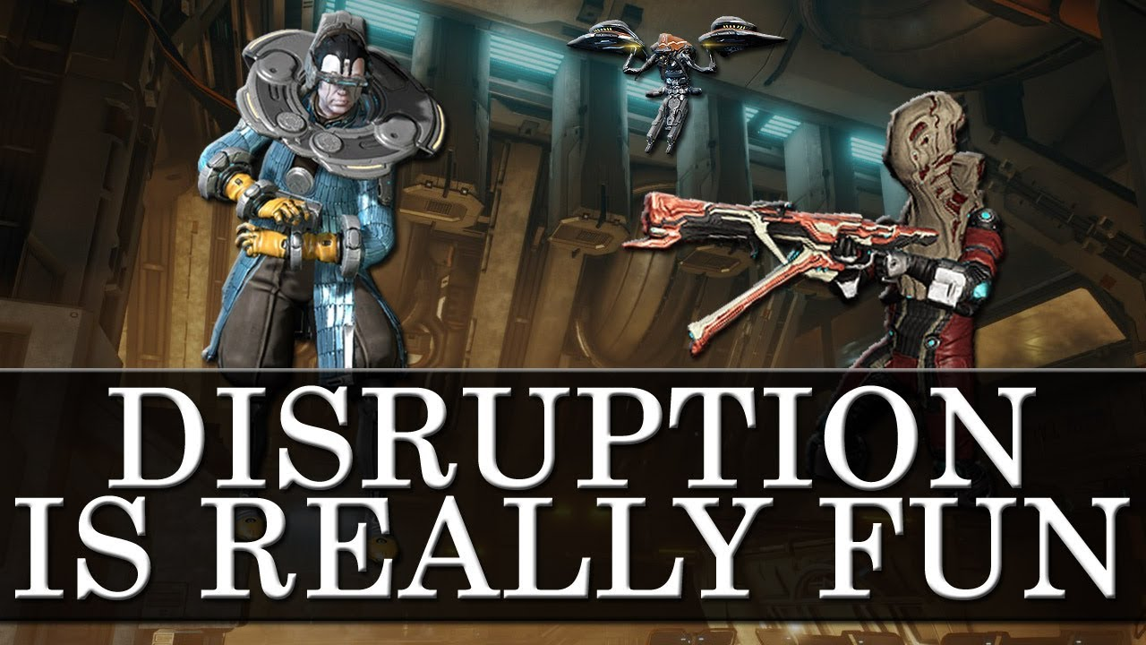 Warframe - Disruption Is Awesome
