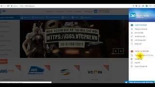 Hướng dẫn nạp tiền vào ví điện tử VTC Pay từ ngân hàng BIDV (2017)