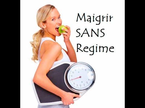 maigrir sans regime alimentaire