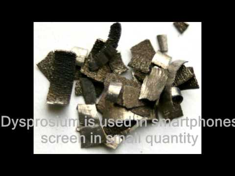 Top5 RARE EARTH ELEMENTS used in Smartphones