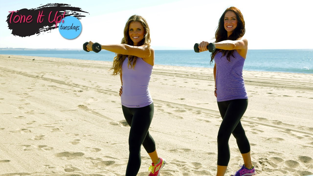 How To Tone Up In A Month: Official Tone It Up Quickie Workout