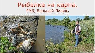 315. Рыбалка на карпа. РМЭ, Б.Пинеж. 22.07.2018. ЗоЛиКс