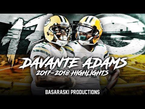 Davante Adams 2017-2018 Season Highlights