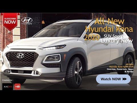 All New 2020 Hyundai Kona SUV Future Car Full Features & Luxury