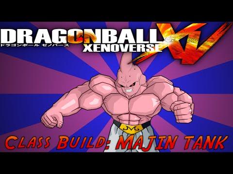 Dragon Ball XenoVerse Class Build #2: MAJIN TANK