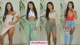 PrettyLittleThing Try on Haul | LovelyBryana
