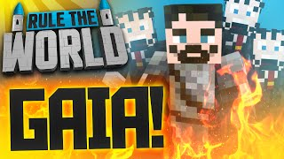 Minecraft Rule The World #48 - Gaia Guardian Battle!