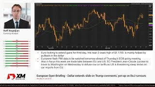 Forex News: 23/07/2018 - Dollar extends slide on Trump comments; yen up on BoJ rumours