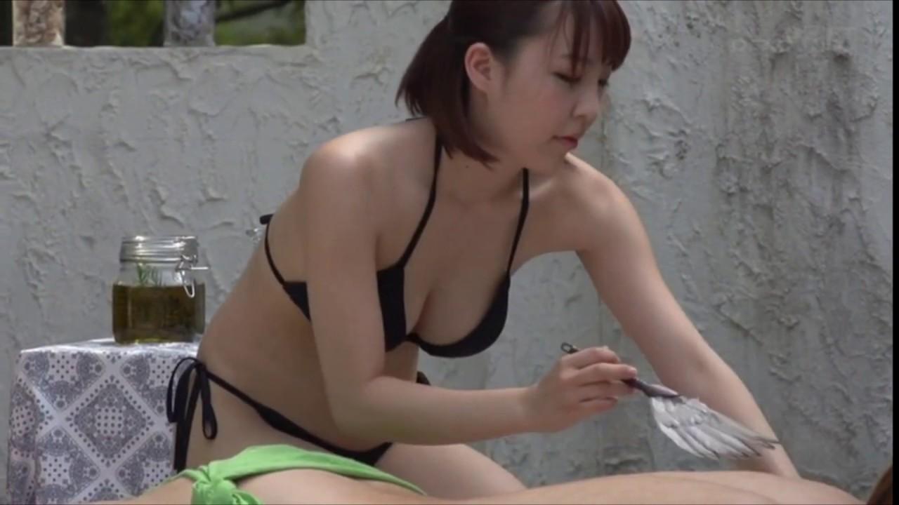 Bikini massage video