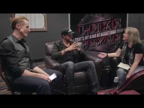 The Waking Crew Gets The Shirt Off Luke Bryan's Back