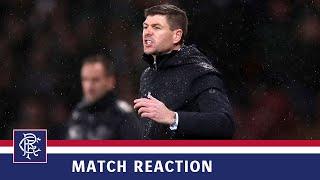 REACTION | Steven Gerrard | Rangers 0-1 Celtic