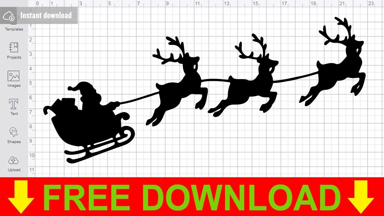 Download Santa Claus Svg Free Cutting Files for Cricut Scan n Cut ...