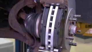 Bosch Disc Brake Installation