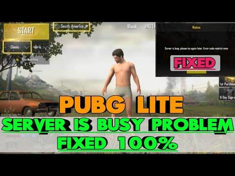 Fix PUBG Mobile Lite