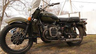 Двигатель К-750 на Урал. Первый выезд.