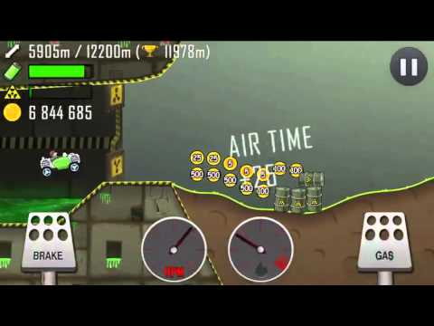 Hill Climb Racing Nuclear Plant Electric Car 14959m
