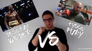 Deontay Wilder VS Tyson Fury predictions - LifeOfAris