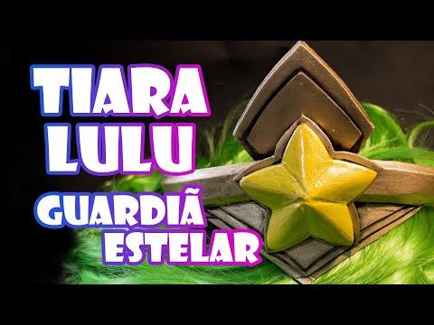 Tutorial Cosplay - Tiara Guardiã Estelar Lulu - League of Legends Star Guardian