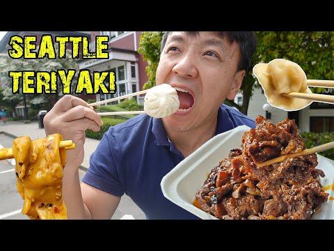 TERIYAKI BEST Soup Dumplings & THICK NOODLES in Seattle